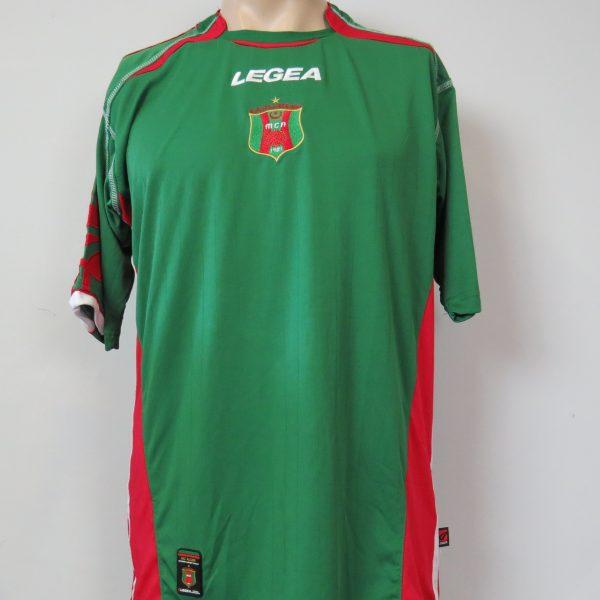 MC Alger 2006-08 home shirt Legea soccer jersey size L (1)