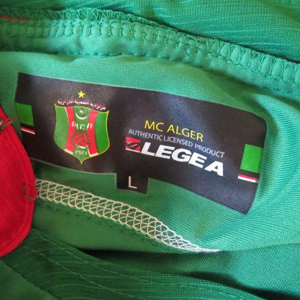 MC Alger 2006-08 home shirt Legea soccer jersey size L (3)
