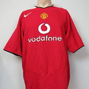 044670e5883 Manchester United 2004-06 home shirt Nike soccer jersey size XXL