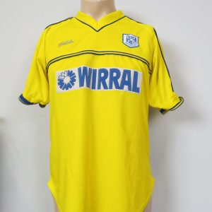 cbfff5b0e0f Vintage Tranmere Rovers 2001-02 away shirt XARA soccer jersey size M