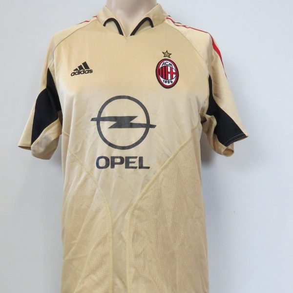 Vintage AC Milan 2004-05 third shirt adidas soccer jersey size S (1)