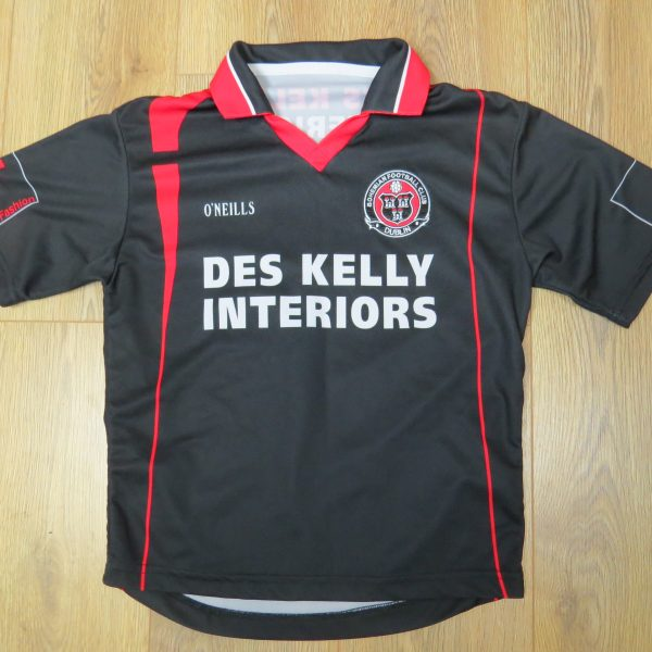 Vintage Bohemians 2006 home shirt O'Neills soccer jersey size 9-10 Years (1)