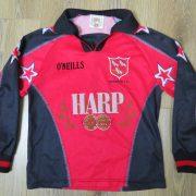 Vintage Dundalk 2001-02 ls away shirt O'Neills soccer jersey size 9-10 Y (1)