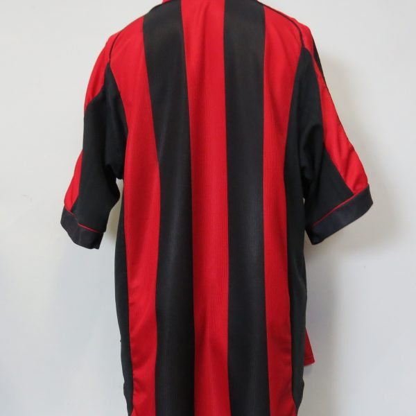 AC Milan 1998-00 home shirt adidas soccer jersey size XL (2)