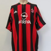 AC Milan 2003-04 home shirt adidas soccer jersey size L (1)
