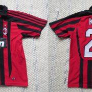 AC Milan 2007-08 home shirt adidas Kaka #22 size Boys M 12Y 152cm (5)