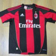 AC Milan 2010-11 home shirt adidas jersey size Boys L 13-14Y 164cm (1)