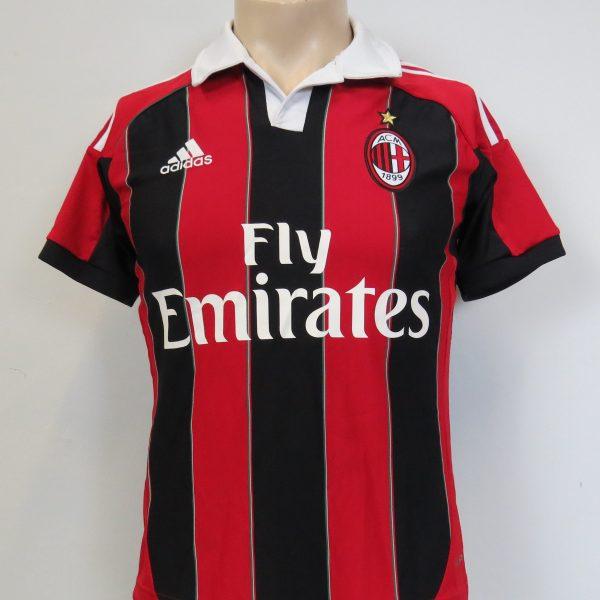 AC Milan 2012-13 home shirt adidas jersey size Boys L 13-14Y 164cm (1)