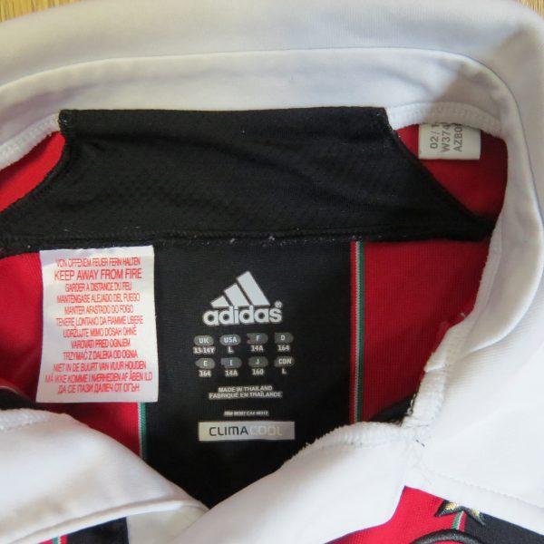 AC Milan 2012-13 home shirt adidas jersey size Boys L 13-14Y 164cm (2)