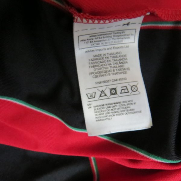 AC Milan 2012-13 home shirt adidas jersey size Boys L 13-14Y 164cm (3)