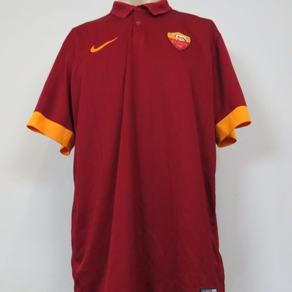 AS Roma 2014-15 home shirt Nike soccer jersey size XL (1)