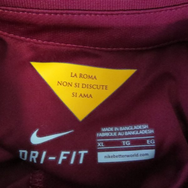 AS Roma 2014-15 home shirt Nike soccer jersey size XL (3)