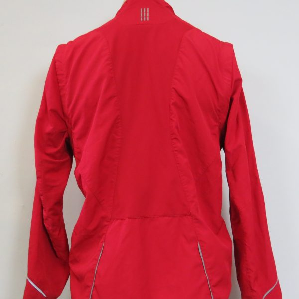 Adidas red tracksuit jacket running RESPONSE FORMOTION size M (2)