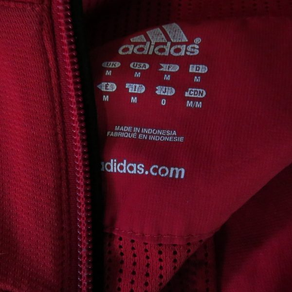 Adidas red tracksuit jacket running RESPONSE FORMOTION size M (3)