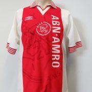 Ajax 1995-96 home shirt Umbro signed Silooy Grim size S (1)