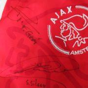 Ajax 1995-96 home shirt Umbro signed Silooy Grim size S (4)
