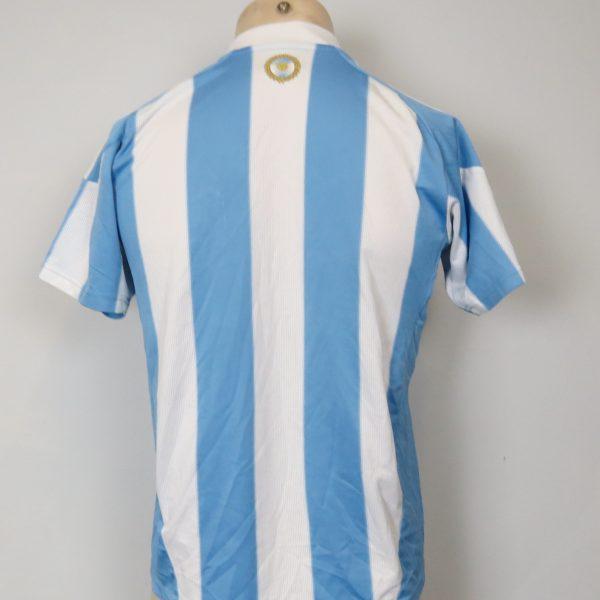Argentina 2010-11 home shirt adidas jersey size Boys L 14Y 164cm (4)