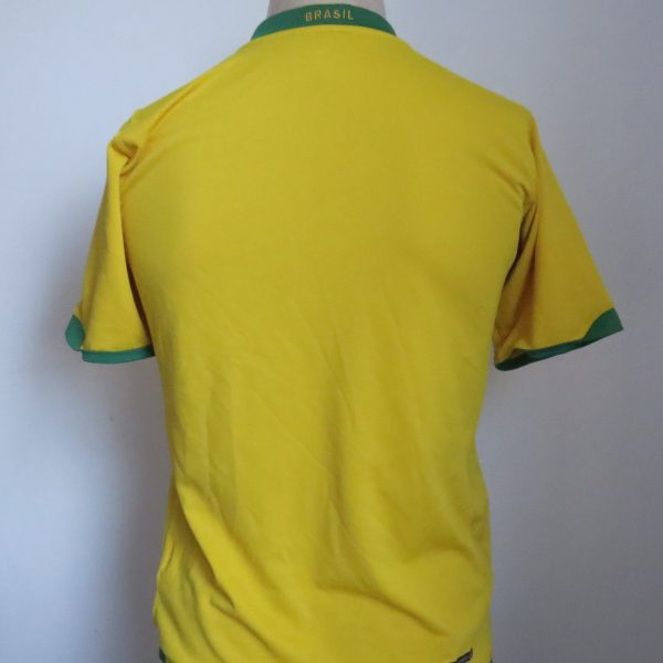 Brazil 2006-08 home shirt Nike jersey Boys XL 13-15Y 158-170 WC2006 (4)