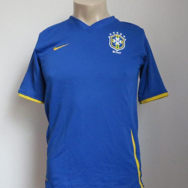Brazil 2008-10 away shirt Nike jersey Boys XL 13-15Y 158-170 (1)