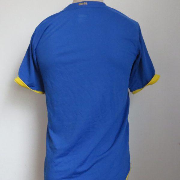 Brazil 2008-10 away shirt Nike jersey Boys XL 13-15Y 158-170 (4)