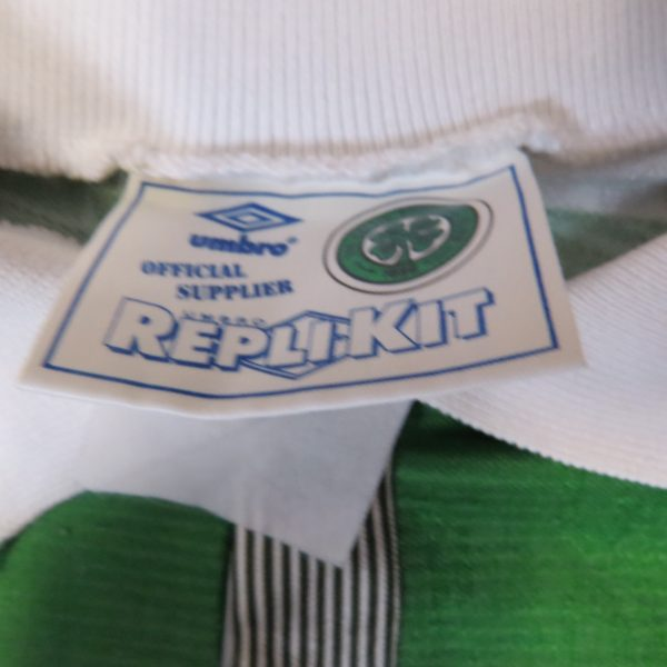 Celtic 1991-92 home shirt Umbro soccer jersey size Boys M 28-30 (Copy) (2)