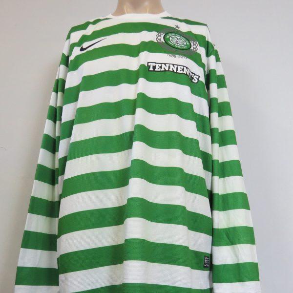 fa104cb8304 Celtic 2012-13 125th Anniversary l s home shirt Nike jersey size XXL ...