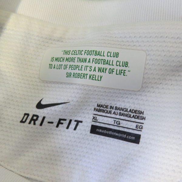 Celtic 2013-15 European home shirt Nike soccer jersey size XL (2)
