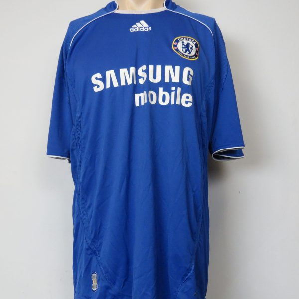 sports shoes ffda7 46307 Chelsea 2006-07 home shirt adidas soccer jersey Ballack 13 size L