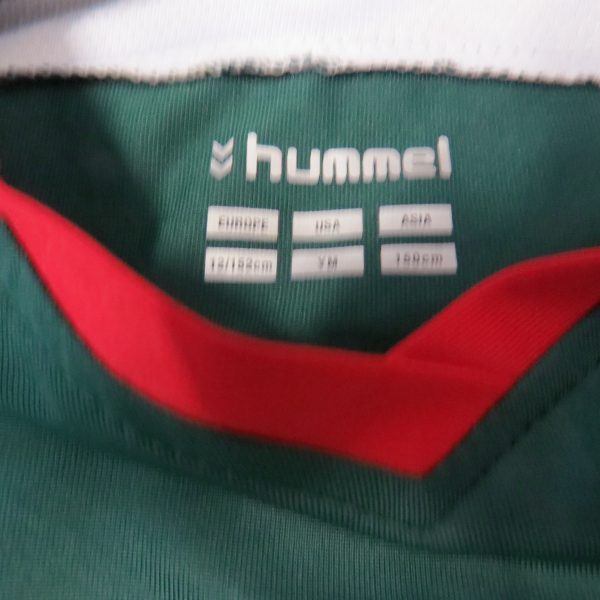 Cork City 2010-11 home shirt Hummel jersey 152cm Boys M 12Y (2)
