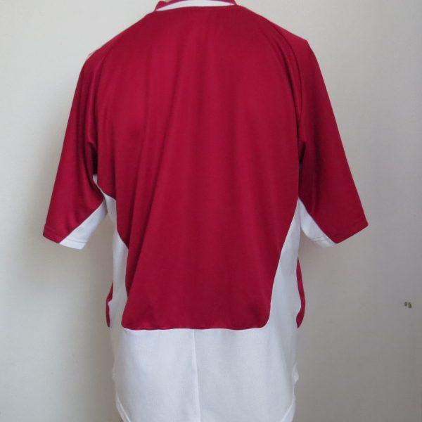 Denmark 2004-06 home shirt adidas soccer jersey size M (2)