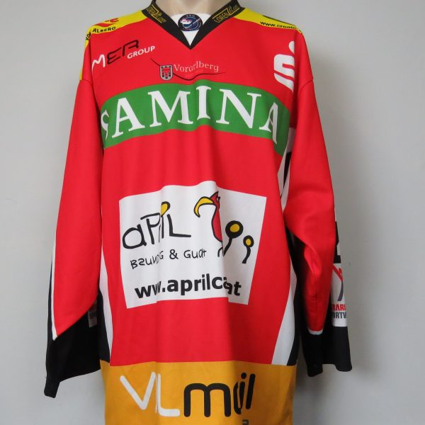 FEU Feldkirch Ice Hockey trikot jersey shirt Nesensohn S. #12 size L (1)