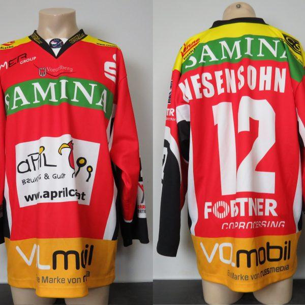 FEU Feldkirch Ice Hockey trikot jersey shirt Nesensohn S. #12 size L