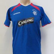 Glasgow Rangers 2003-05 home shirt Diadora PRSO 9 size YOUTH 152-158cm (1)