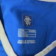 Glasgow Rangers 2003-05 home shirt Diadora PRSO 9 size YOUTH 152-158cm (3)