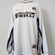Inter Milan 1999-00 ls prototype away shirt Nike soccer jersey size XL (1)