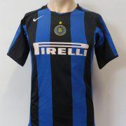 Inter Milan 2004-05 home shirt Nike jersey Figo 7 Boys L 12-13Y (2)