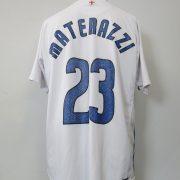 Inter Milan 2006-07 away shirt Nike Materazzi 23 size XL (1)