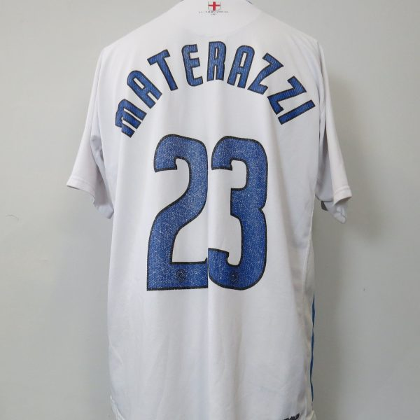 Inter Milan 2006-07 away shirt Nike Materazzi 23 size XL (1)
