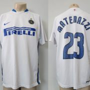 Inter Milan 2006-07 away shirt Nike Materazzi 23 size XL