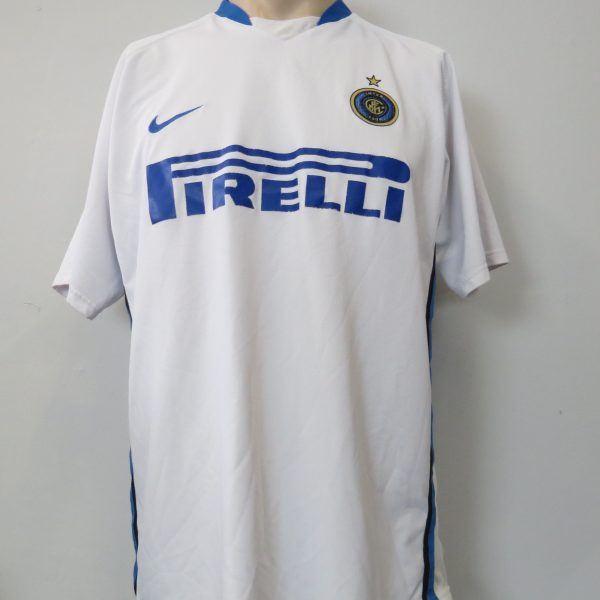 Inter Milan 2006-07 away shirt Nike Materazzi 23 size XL (2)