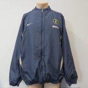 Inter Milan grey 2000's retro tracksuit shell jacket size XL (1)