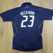 LA Galaxy 2007-08 away shirt MLS soccer jersey Beckham 23 164cm 14Y Boys L (13)