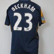 LA Galaxy 2007-08 away shirt MLS soccer jersey Beckham 23 164cm 14Y Boys L (8)
