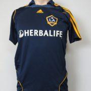 LA Galaxy 2007-08 away shirt MLS soccer jersey Beckham 23 164cm 14Y Boys L (9)