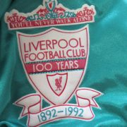 Liverpool 1992-93 centenary away shirt adidas soccer jersey size XL 44-46 (3)