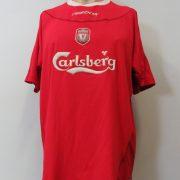 Liverpool 2002-04 home shirt Reebok soccer jersey size XL (1)