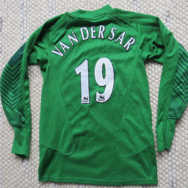 quality design e0e82 c7eed Manchester United 2005-06 L/S GK shirt Nike Van Der Sar 19 140-152 Boys M  10-12Y