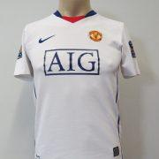 Manchester United 2008-10 away shirt Nike Tevez 32 size Boys L 152-158 1213Y (2)