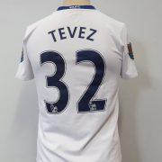 Manchester United 2008-10 away shirt Nike Tevez 32 size Boys L 152-158 1213Y (3)