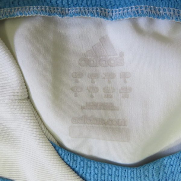 Olympique Marseille 2007-08 home shirt adidas soccer jersey size L (2)